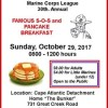 SOS/Pancake Breakfast, Oct. 29, 2017